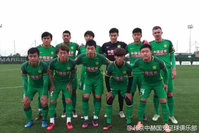 热身-张晓彬2球奥古破门 国安6-0狂胜西乙B球队