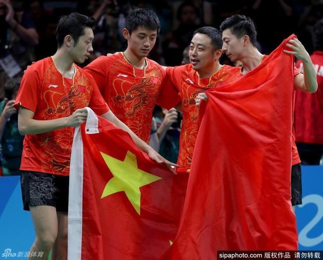 这是中国乒乓球里程碑的一次奥运会