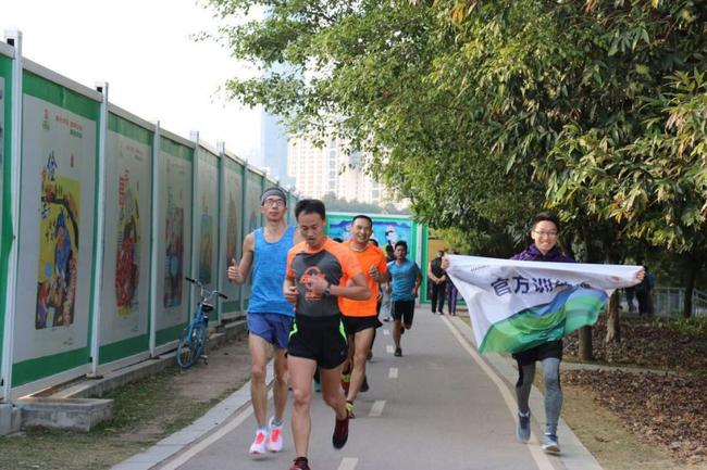 上海跑步自然门跑团户外训练