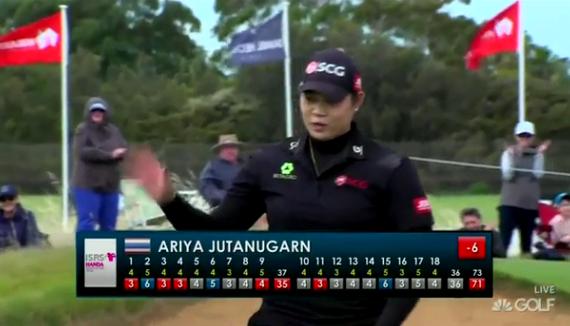 视频-LPGA澳洲赛决赛轮阿瑞雅集锦 铁杆护驾获第三