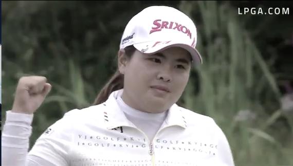 视频-欢迎回来!奥运冠军朴仁妃LPGA泰国赛复出