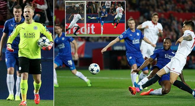 欧冠-瓦尔迪破荒 莱斯特城1-2客负塞维利亚