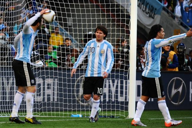 阿根廷惨败在德国脚下