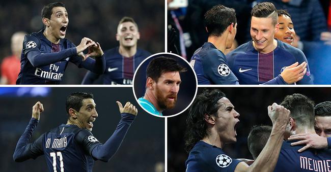 对阵大巴黎,梅西表现低迷