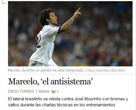 两人矛盾遭到西班牙媒体曝光