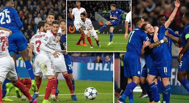欧冠-门神救点 纳斯里红牌 莱斯特2-0翻盘
