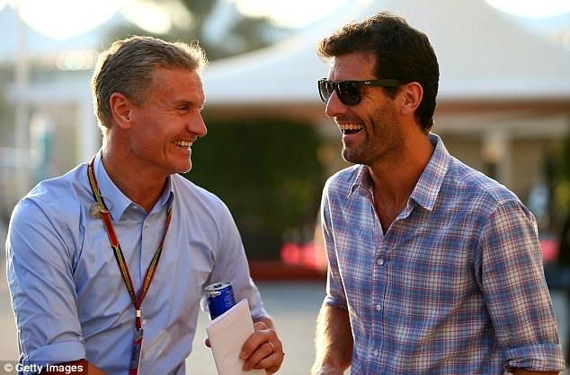 两位前F1车手,库特哈德与韦伯