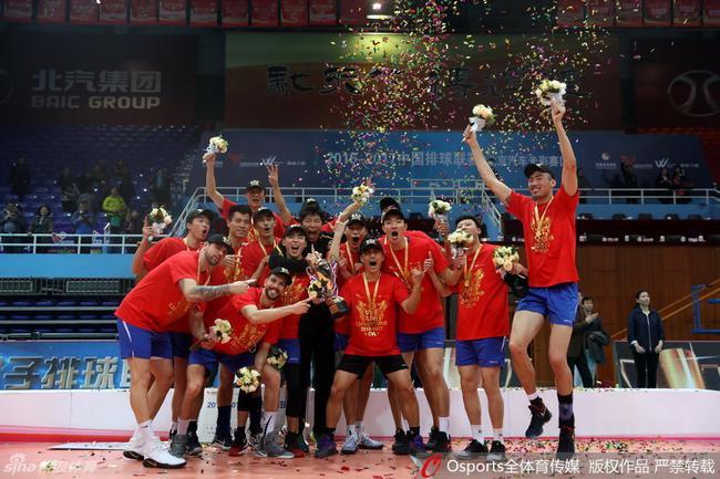 全运会男排上海爆冷负河南 北京江苏山东均获胜