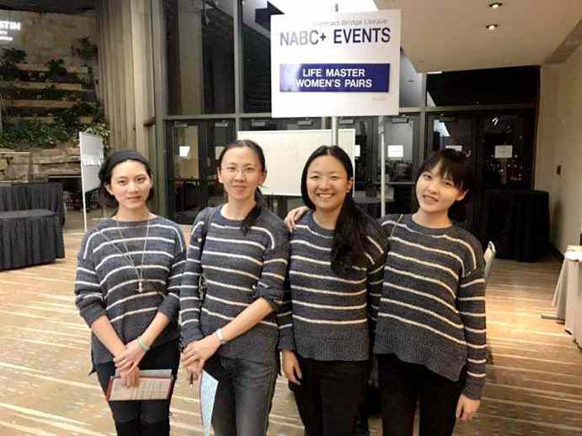 左起:王玮、刘硕妍、李依婷、夏媚