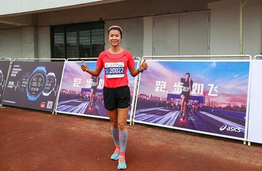 2016年里约奥运会女子20公里竞走冠军刘虹锡马半马完赛