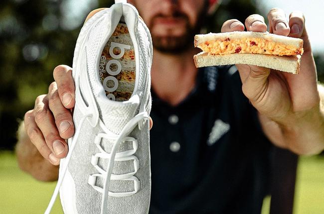 吃货的脑袋!大师赛名小吃成阿迪球鞋设计灵感