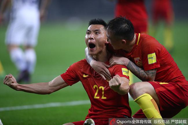 12强赛-于大宝一锤定音 国足主场1-0韩国斩首胜