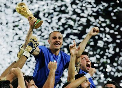 当年夺得世界杯的意大利队也不是热门