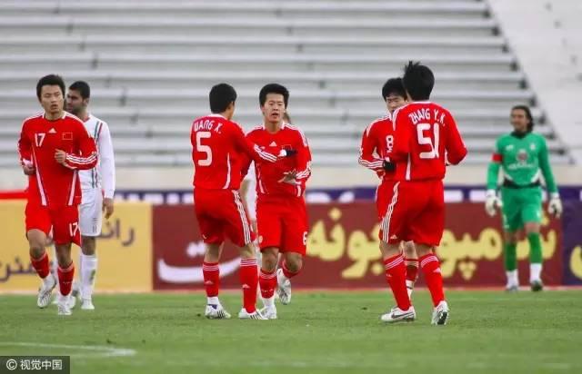 09年友谊赛国足客场1-3伊朗,黄博文进球