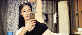 韩国嫩模身材诱人 长相甜美酷似Angelababy