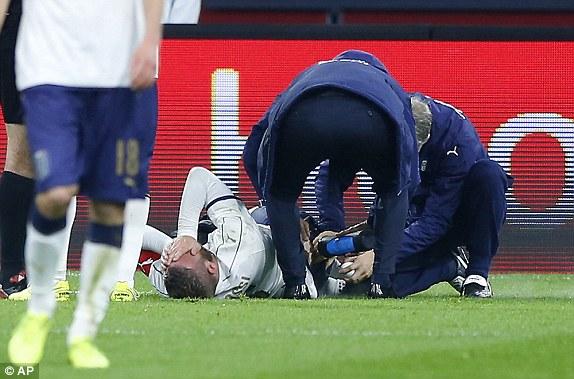 德罗西受伤下场