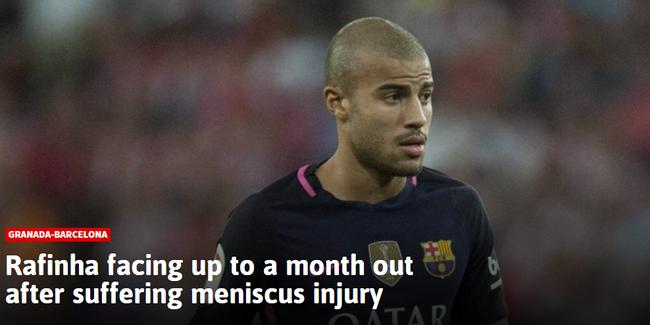 《阿斯报》分析认为,这种伤病至少需要缺阵一个月