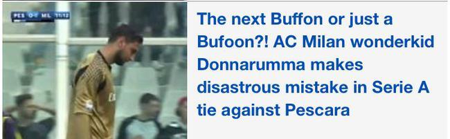 《每日邮报》嘲讽唐纳鲁马