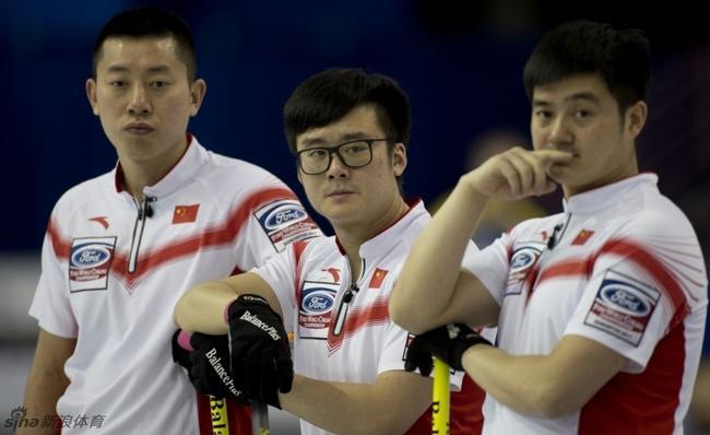 冰壶世锦赛中国男队擒挪威 取第四胜留四强希望