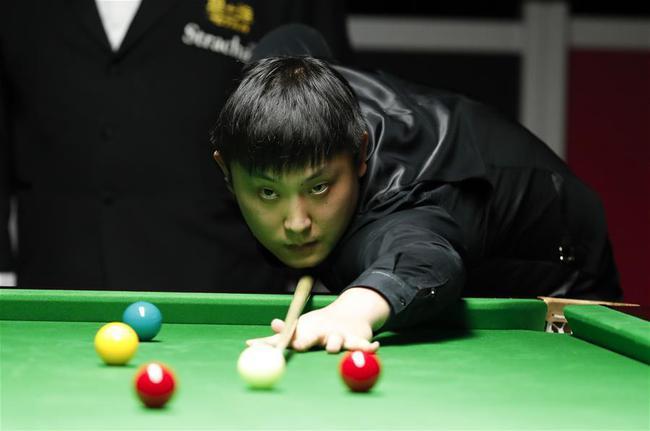 上海大师赛于德陆肖国栋等4人进正赛 5人遭淘汰
