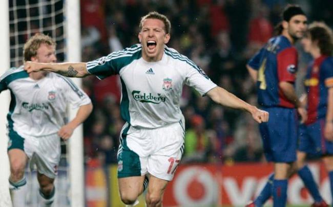 10年前巴萨主场1-2利物浦,客场1-0,但没能逆转