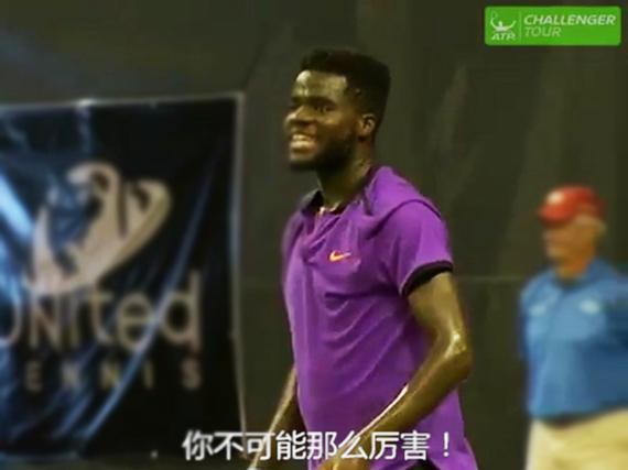 视频-史上最污网球直播!场外嘿咻声数次打断球员比赛
