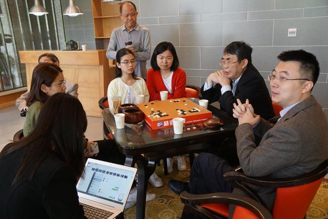 中国队研究组