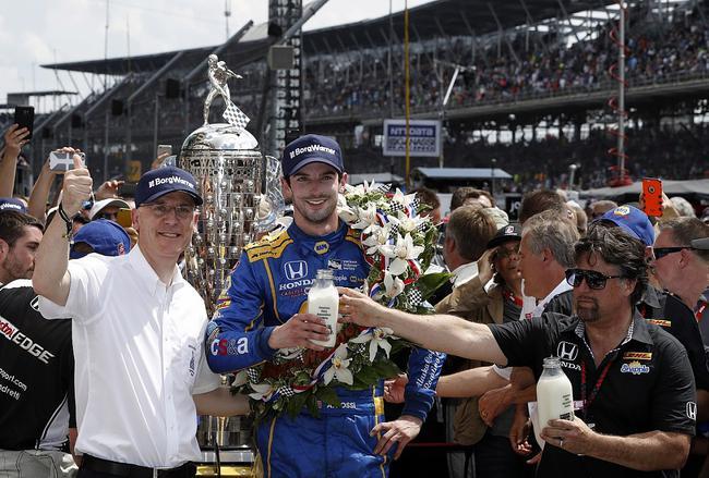 Alexander Rossi夺得Indy500冠军
