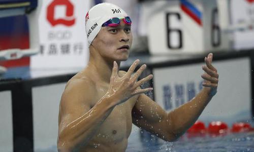 孙杨领衔中国游泳复兴