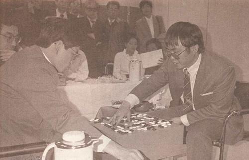 第3届中日围棋擂台赛决战 聂卫平胜加藤正夫