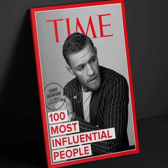 """麦格雷戈入选时代杂志""""100位最具影响力人物榜"""