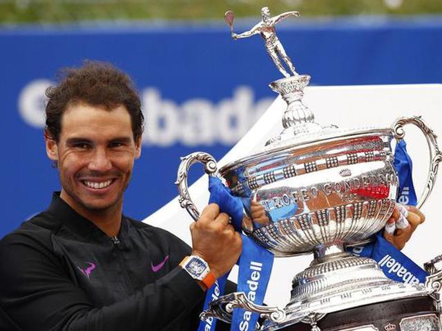 视频-ATP巴塞罗那站纳达尔完胜蒂姆 背靠背10冠伟业