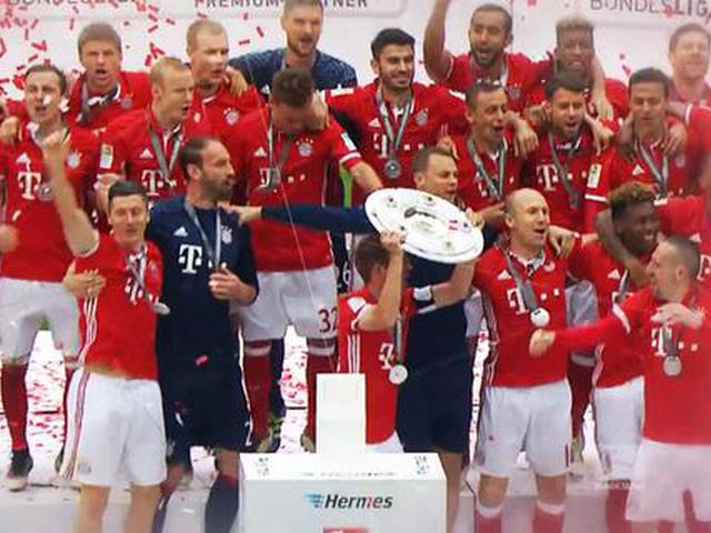 视频-连续五年称霸德甲 拜仁史无前例的伟绩
