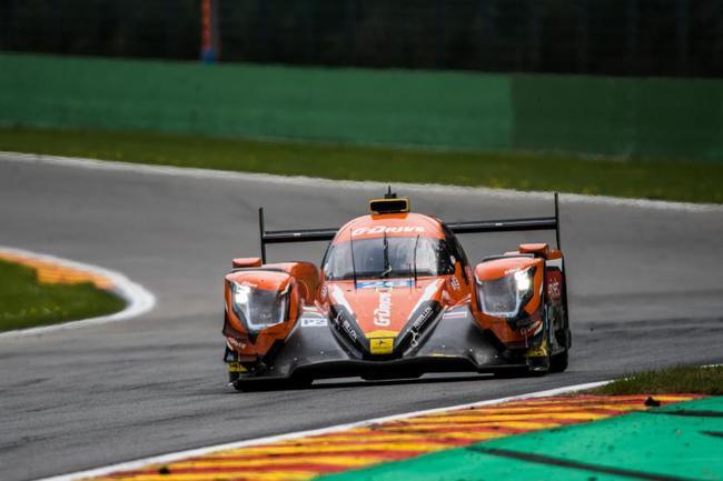 LMP2组获胜的G-Drive车队26号赛车