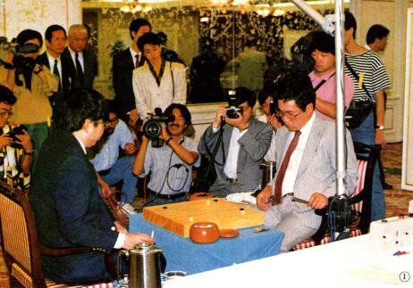 聂卫平林海峰争夺富士通杯冠军