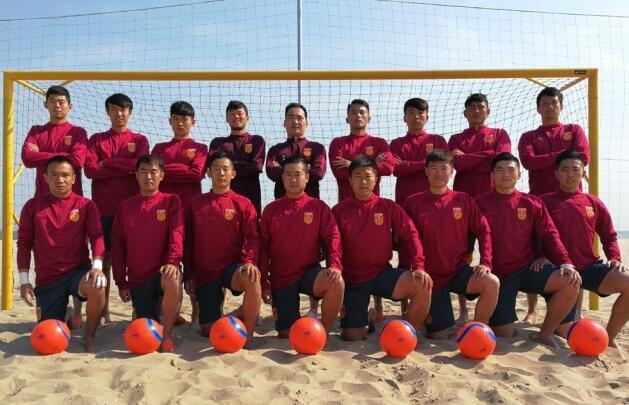 唐山举办2017年一带一路杯沙滩足球邀请赛首
