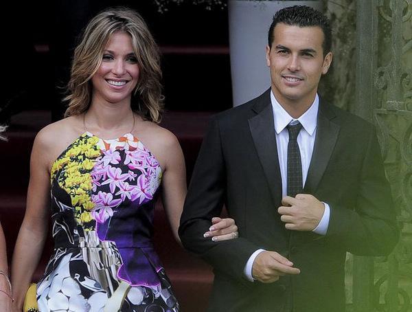 佩德罗与妻子