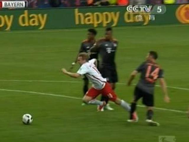 进球视频-阿隆索绊人染黄送点 韦尔纳笑纳再度超出