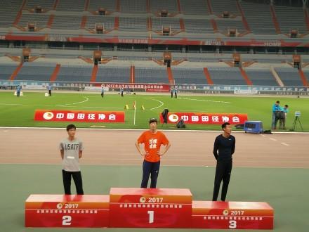 _*全锦赛张国伟2米31夺冠进世锦赛_谢震业百米加冕