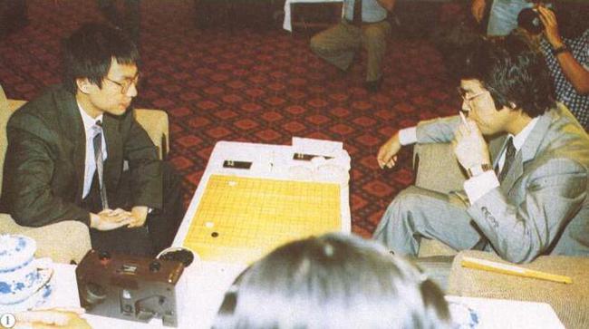 1991年富士通杯上 钱宇平胜石田芳夫