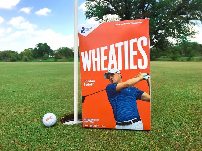 斯皮思登上Wheaties麦片包装盒
