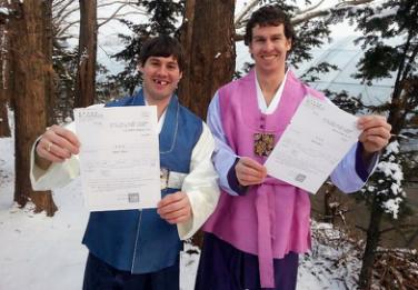 北美球员加入韩国冰球队