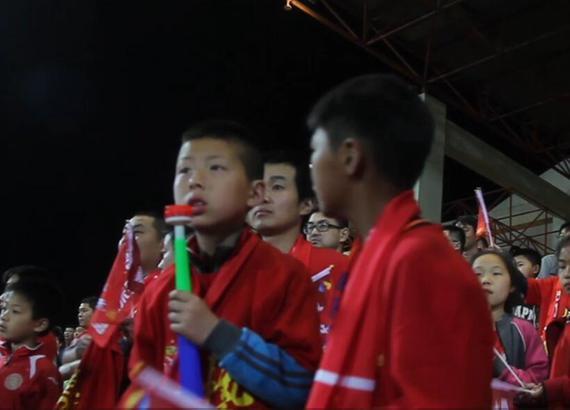 中国足球小将惊艳日本