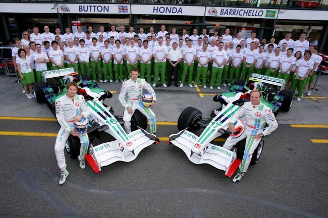 """2008年,本田退出F1之前著名的""""地球车"""""""