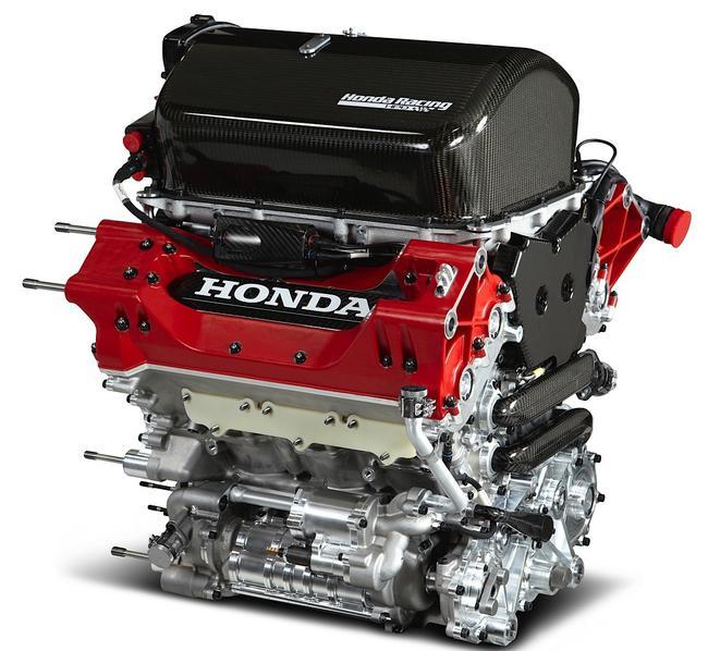 本田为INDYCAR打造的V6双涡轮增压引擎