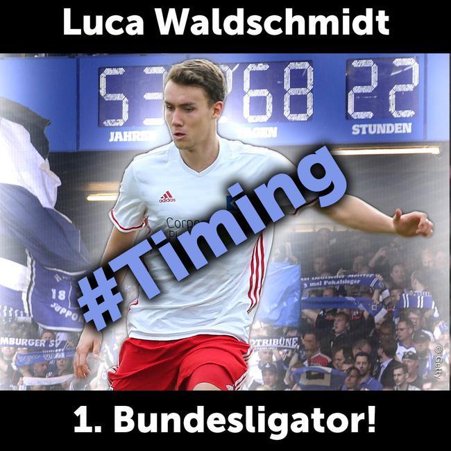 瓦尔德施密特的第一个德甲进球