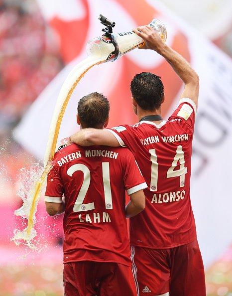 致拉姆和阿隆索:告别足球场 Philipp Lahm!
