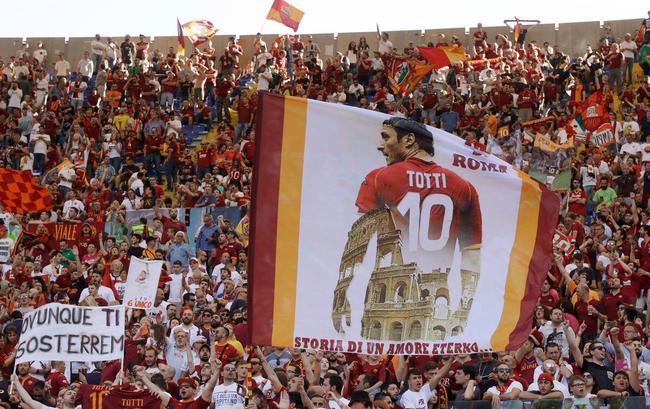 托蒂代表着罗马城