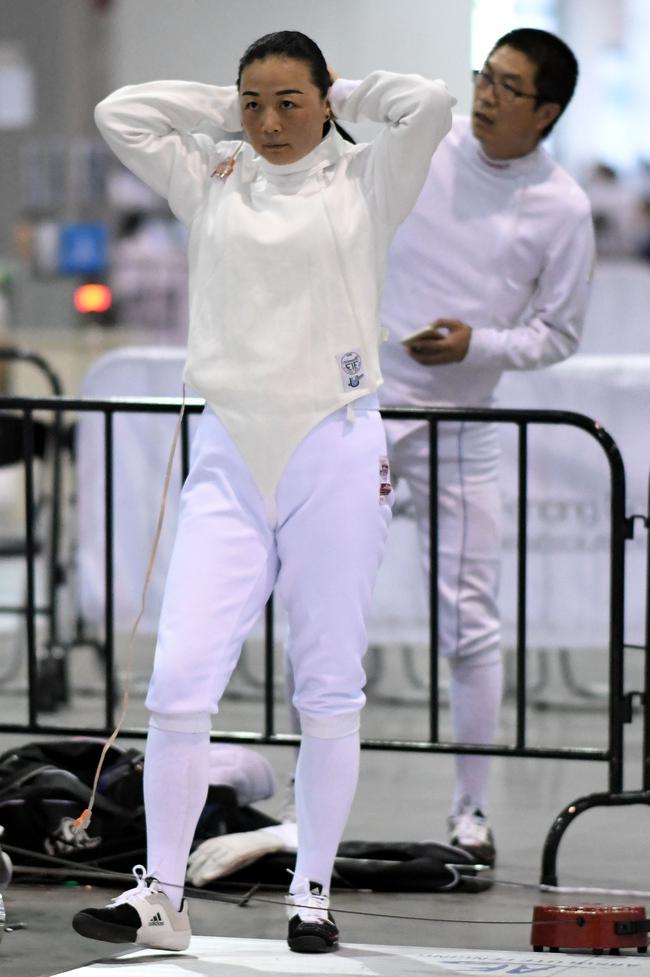 南昌站是吕玉涵的第一站比赛