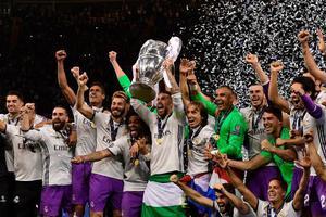 C罗2球卡塞米罗重炮 皇马4-1卫冕欧冠